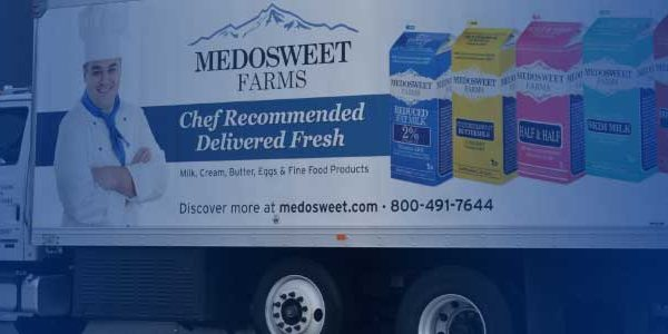 Medosweet Farms truck