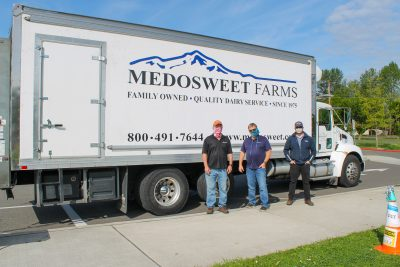 2 men and a Medowsweet truck